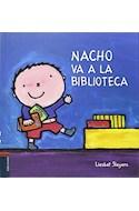 Papel NACHO VA A LA BIBLIOTECA [ILUSTRADO] (CARTONE)
