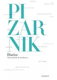 Papel Diarios De Alejandra Pizarnik (Td)