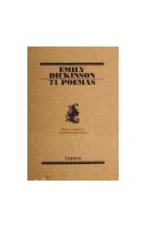 Papel 71 POEMAS (COLECCION POESIA 139) (RUSTICA)