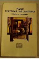 Papel NADIE ENCENDIA LAS LAMPARAS