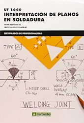 Libro Interpretacion De Planos En Soldadura (Uf1640)