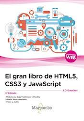 El Gran Libro De Html 5 , Css3 Y Javascript