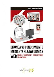 Libro Difunda Su Conocimiento Mediante Plataformas Web