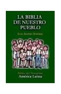 Papel BIBLIA DE NUESTRO PUEBLO (CARTONE) (CON UÑERO) (BOLSILLO) EDITORIAL MENSAJERO