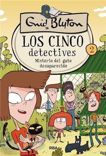 E-book Los Cinco Detectives #2. Misterio Del Gato Desaparecido