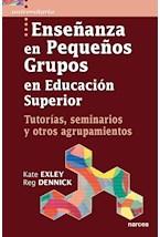Papel ENSEÑANZA EN PEQUEÑOS GRUPOS EN EDUCACION SUPERIOR
