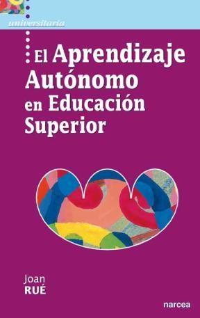 E-book El Aprendizaje Autónomo En Educación Superior
