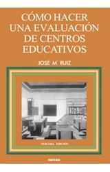 E-book Cómo hacer una evaluación de Centros educativos