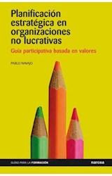 E-book Planificación estratégica en organizaciones no lucrativas