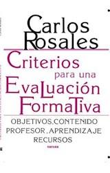 E-book Criterios para una evaluación formativa