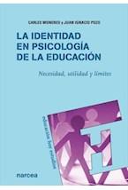 Papel LA IDENTIDAD EN PSICOLOGIA DE LA EDUCACION
