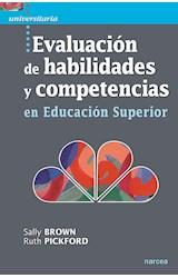 Papel EVALUACION DE HABILIDADES Y COMPETENCIAS EN EDUCACION SUPERI