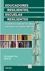 Papel EDUCADORES RESILIENTES ESCUELAS RESILIENTES