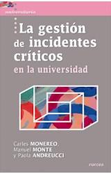 E-book La gestión de incidentes críticos en la Universidad