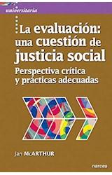 Papel LA EVALUACION: UNA CUESTION DE JUSTICIA SOCIAL