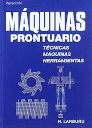 Papel Maquinas Prontuario Tecnicas Maquinas Herram