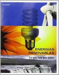 Libro Energias Renovables Lo Que Hay Que Saber