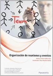 Libro Organizacion De Reuniones Y Eventos