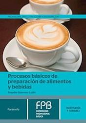 Libro Procesos Basicos De Preparacion De Alimentos Y Bebidas