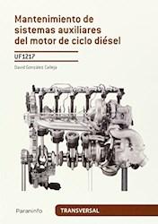 Libro Mantenimiento De Sistemas Auxiliares Del Motor De Ciclo Diesel