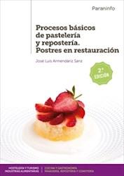 Libro Procesos Basicos De Pasteleria Y Reposteria