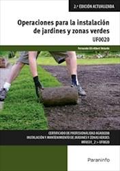 Libro Operaciones Para La Instalacion De Jardines Y Zonas Verdes