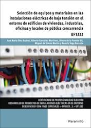 Libro Seleccion De Equipos Y Materiales En Las Instalaciones Electricas