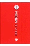 Papel BIBLIA DE AMERICA EDICION POPULAR (BOLSILLO) (SEMIRUSTICA)