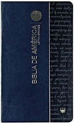 Libro Biblia De America Legra Grande Azul  ( Flexible )