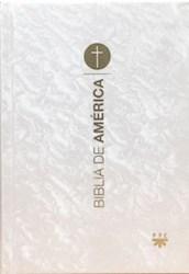 Libro Biblia De America : Pequeña Popular Nacarada.