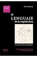 Papel LENGUAJE DE LA ARQUITECTURA (COLECCION DOCUMENTOS DE COMPOSICION ARQUITECTONICA 7)