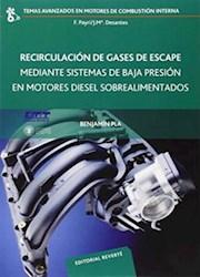Libro Recirculacion De Gases De Escape Mediante Sistemas De Baja Presion