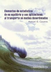 Libro Elementos De Estadistica De No Equilibrio Y Sus Aplicaciones Al Transporte