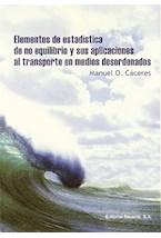Papel ELEMENTOS DE ESTADISTICA DE NO EQUILIBRIO Y SUS APLICACIONES