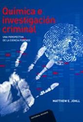 Libro Quimica E Investigacion Criminal