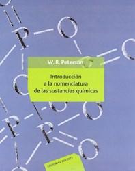 Libro Introduccion A La Nomenclatura De Las Sustancias Quimicas