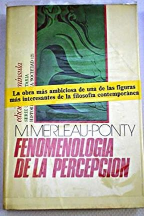 Papel Fenomenologia De La Percepcion