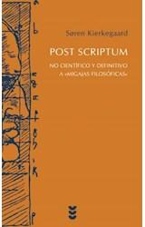 Papel POST SCRIPTUM (NO CIENTIFICO Y DEFINITIVO A MIGAJAS FILOSOFI