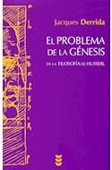 Papel PROBLEMA DE LA GENESIS EN LA FILOSOFIA DE HUSSERL (COLECCION HERMENEIA 108) (RUSTICA)