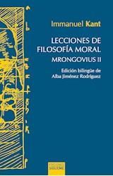 Papel LECCIONES DE FILOSOFIA MORAL