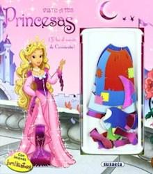 Libro Cenicienta ( Viste A Tus Princesas )