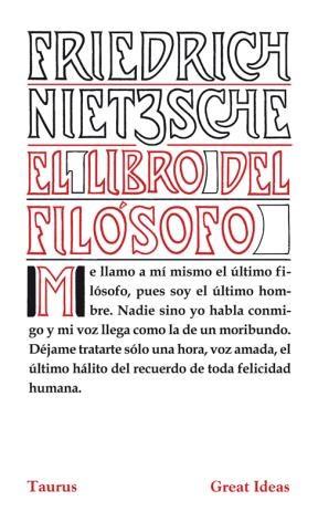 E-book El Libro Del Filósofo (Serie Great Ideas 21)