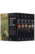 Papel HISTORIA DE LA VIDA PRIVADA (5 TOMOS) (ESTUCHE) (CARTONE)
