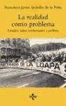 Libro La Realidad Como Problema