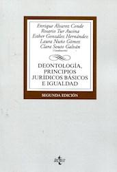 Libro Deontologia , Principios Juridicos E Igualdad
