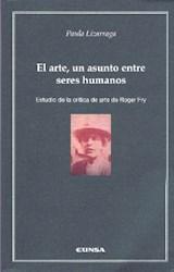Papel EL ARTE, UN ASUNTO ENTRE SERES HUMANOS,