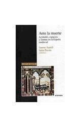 Papel ANTE LA MUERTE . ACTITUDES, ESPACIOS Y FORMA