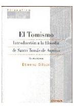 Papel TOMISMO. INTRODUCCION A LA FILOSOFIA DE SANTO TOMAS DE AQ, E