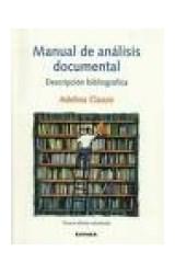 Papel Manual de análisis documental