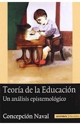 Papel TEORIA DE LA EDUCACION . UN ANALISIS EPISTEM